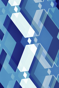 480x800 Blue Interpretation 5k