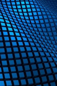 Blue Pattern 3d