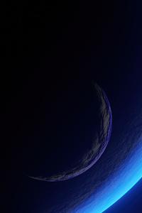 1080x2280 Blue Planet