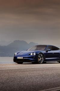 320x568 Blue Porsche 4k