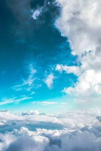 480x854 Blue Sky 5k