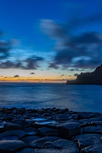 Blue Sky Ocean 4k
