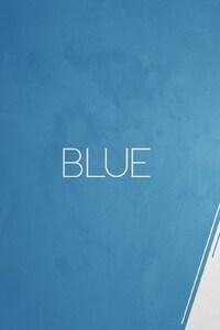 Blue vs white