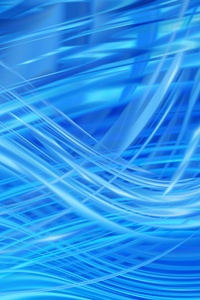 240x320 Blue Waves Of Abstract 4k