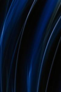 Blue White Light Illsutration 5k