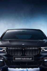 BMW 750i Black Ice Edition 2017 Front