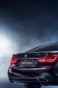 BMW 750i Black Ice Edition 2017 Rear