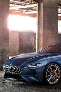 1440x2560 BMW 8 Series Concept 2017