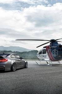 Bmw And Chopper
