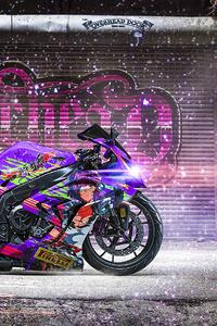 480x800 Bmw Bike 4k