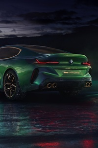 Bmw Concept M8 Gran Coupe 8k