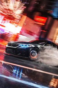 1440x2560 Bmw Drifting