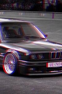 BMW E30 3d