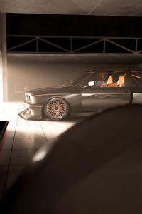 1280x2120 Bmw E30 Classic Car 5k