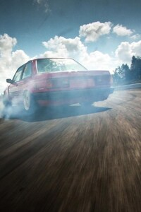 750x1334 BMW E30 Drift