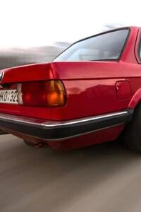 BMW E30 Old Sport Car