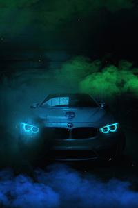 640x960 Bmw Glowing 4k
