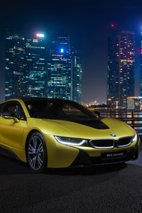 BMW I8 Frozen Yellow Edition