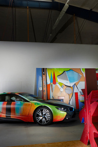 BMW I8 Thomas Scheibitz Design 5k