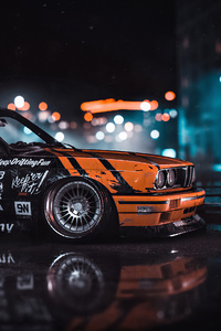 640x1136 Bmw M3 E30 Need For Speed 4k
