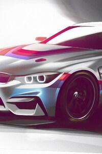 BMW M4 GT4 2018 Design