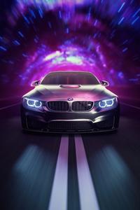 1440x2960 Bmw M4 Speed Of Light