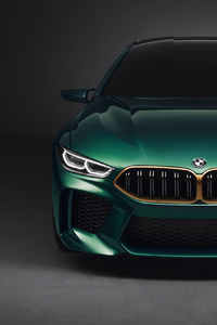 Bmw M8 4k Front View