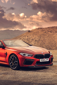BMW M8 Competition Cabrio 2020 4k 5k
