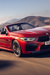 BMW M8 Competition Cabrio 2020 5k