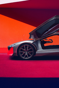 BMW Vision M NEXT 2019 Side View 4k