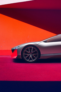 320x568 BMW Vision M NEXT 2019 Side View