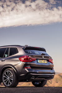 BMW X3 XDrive30d M Sport 2017 Rear