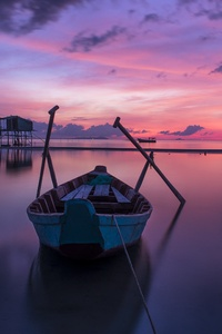 Boat Silent Sea