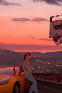 1440x2960 BoJack Horseman Artwork