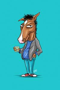 Bojack Horseman Minimal 4k