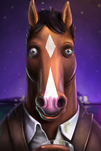 480x800 Bojack Horseman Tv Series 4k