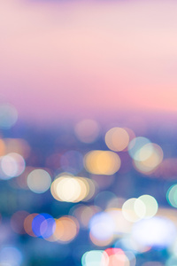 Bokeh Blur Colorful 8k