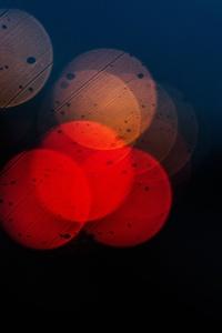 Bokeh Colors Dark Blur 5k