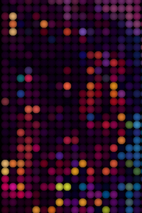 720x1280 Bokeh Lights Abstract 4k