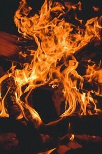 Bonfire Campfire Burning 5k