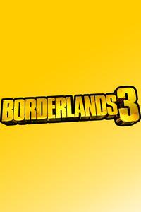 1440x2960 Borderlands 3 Logo 8k