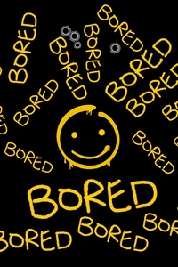 480x854 Bored Typography