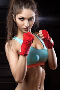 1080x1920 Boxer Girl