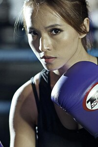 1080x2160 Boxing Girl