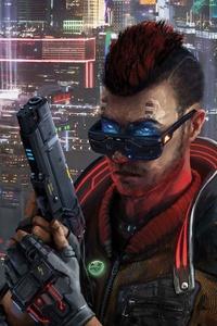 640x960 Boy Cyberpunk 2077