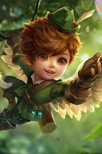 Boy Fairy Purple Eyes Wings