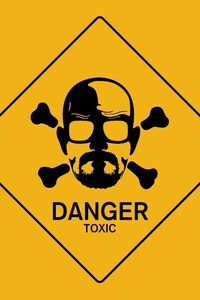 1242x2688 Breaking Bad Danger