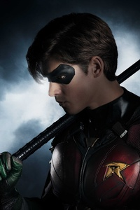 Brenton Thwaites As Robin In Titans 8k