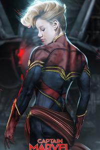 1080x2160 Brie Larson Captain