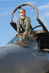 480x800 Brie Larson In Captain Marvel Movie
